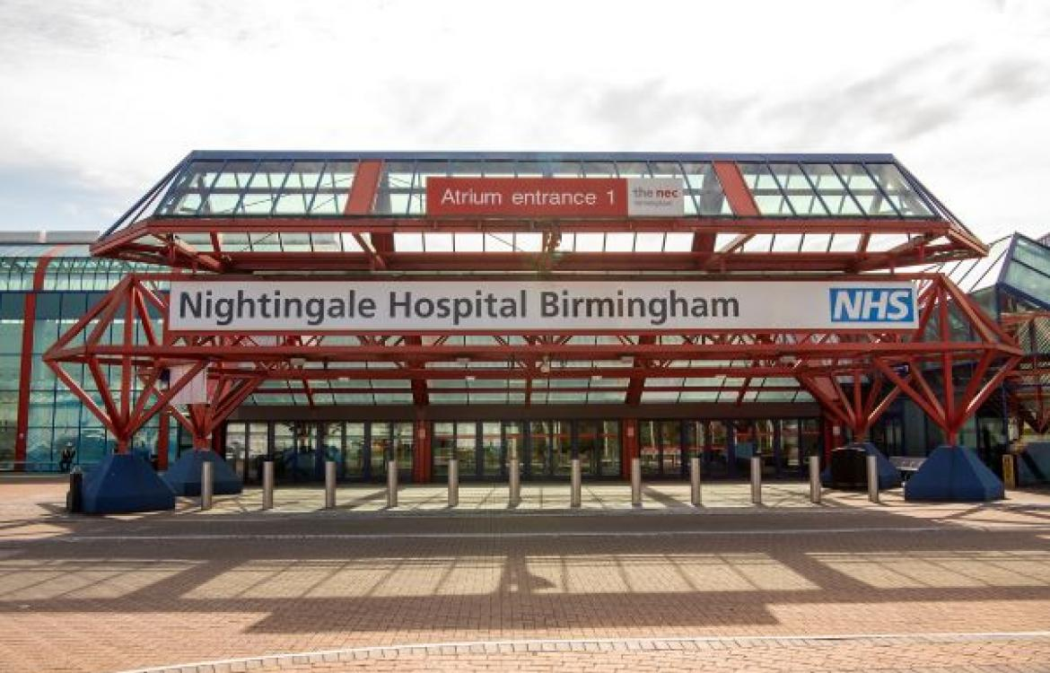 NEC Nightingale Hospital for COVID-19