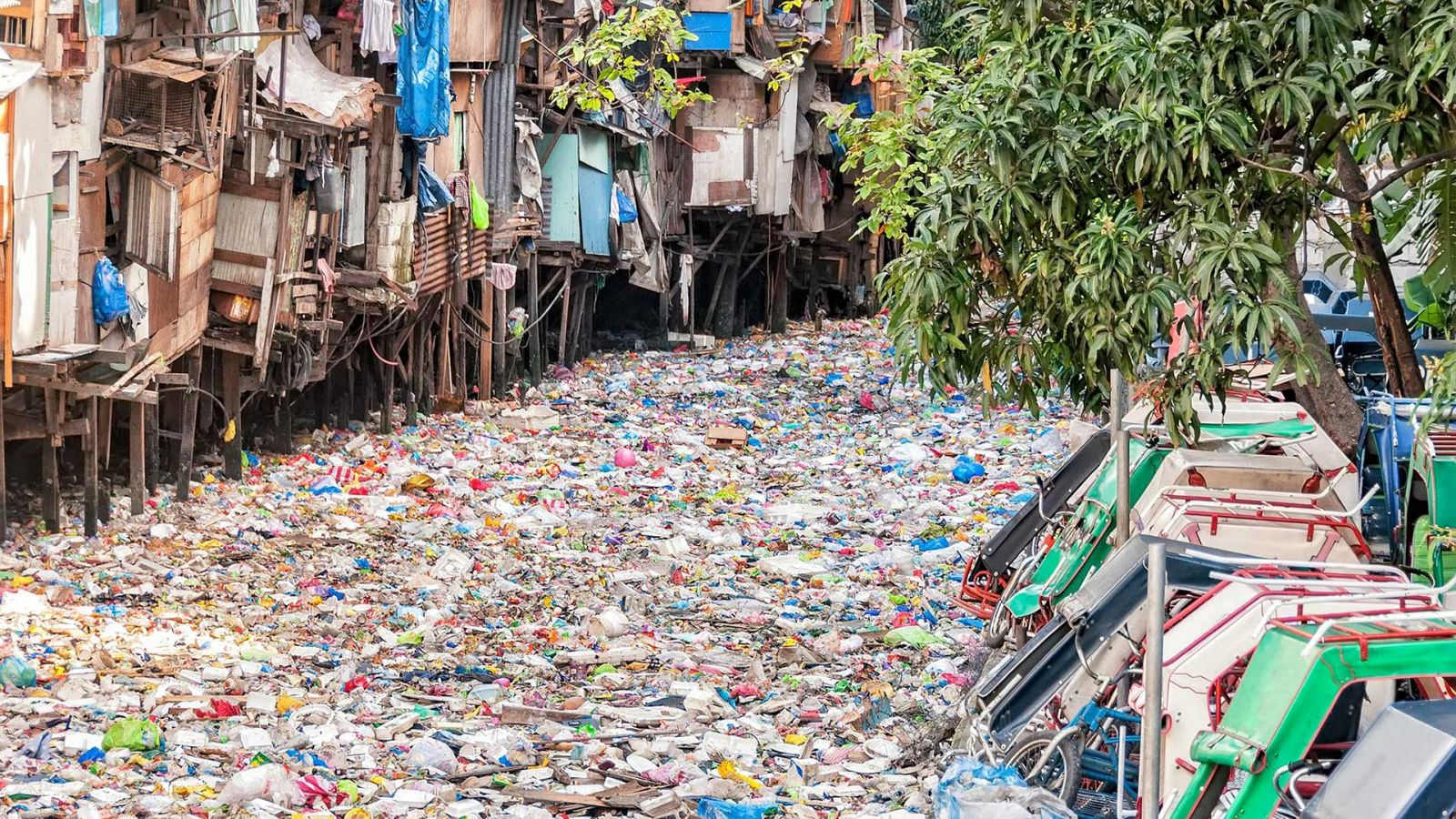 A river of plastic in Far East